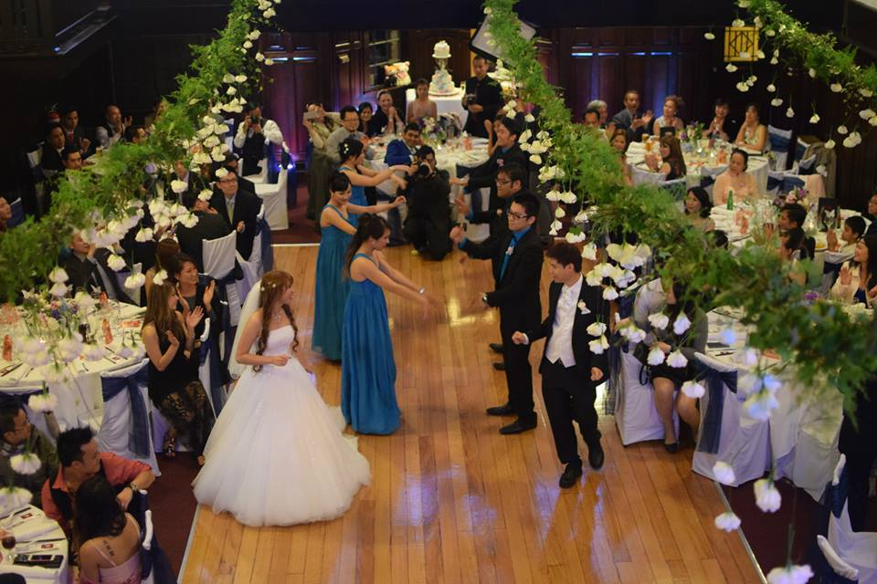 Wattle Park Chalet Wedding Nick Thuy Ceremony Melbourne Venue Chinese Catering Silks