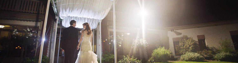 Katie Aaron Garden Wedding Reception Wattle Park Chalet Melbourne