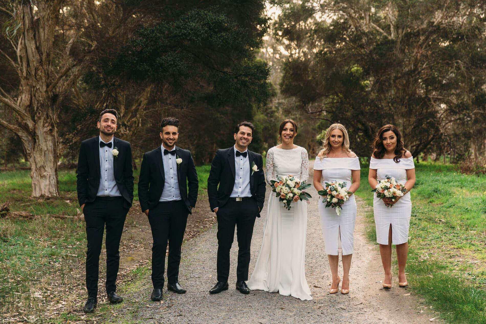 Birde and Groom Party - Wedding Venue